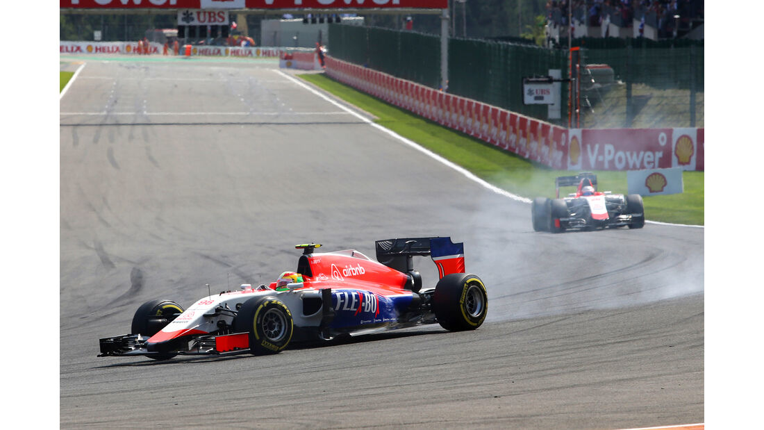 Manor Marussia - GP Belgien 2015