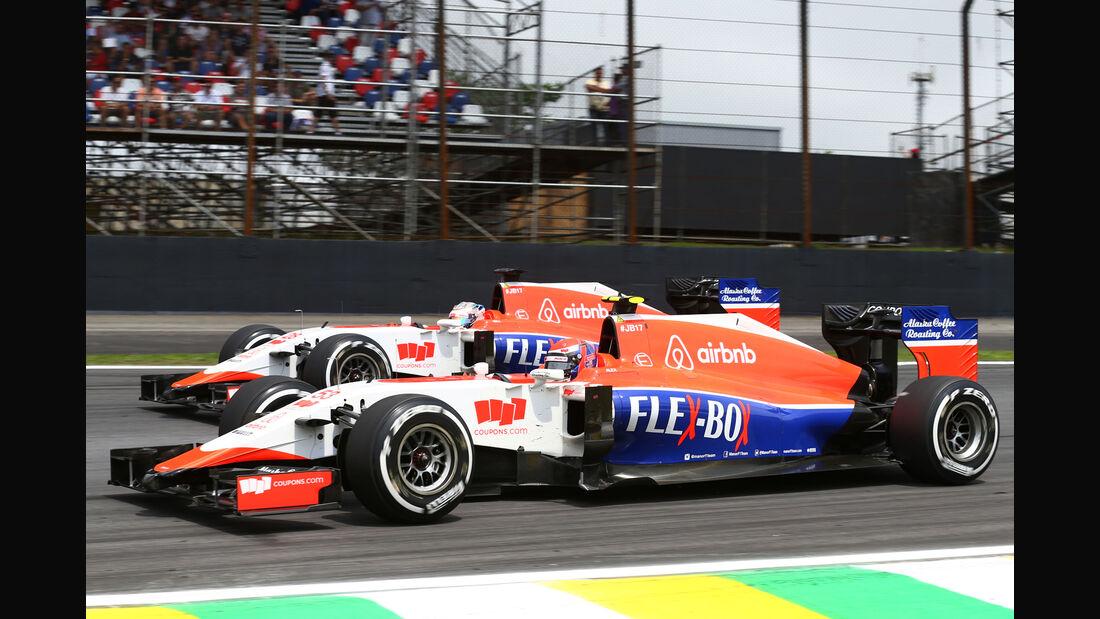 Manor Marussia - GP Brasilien 2015