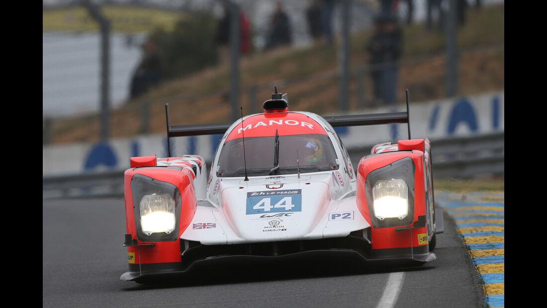 Manor - ORECA 05 - Nissan - 24h Le Mans Vortest - 2016