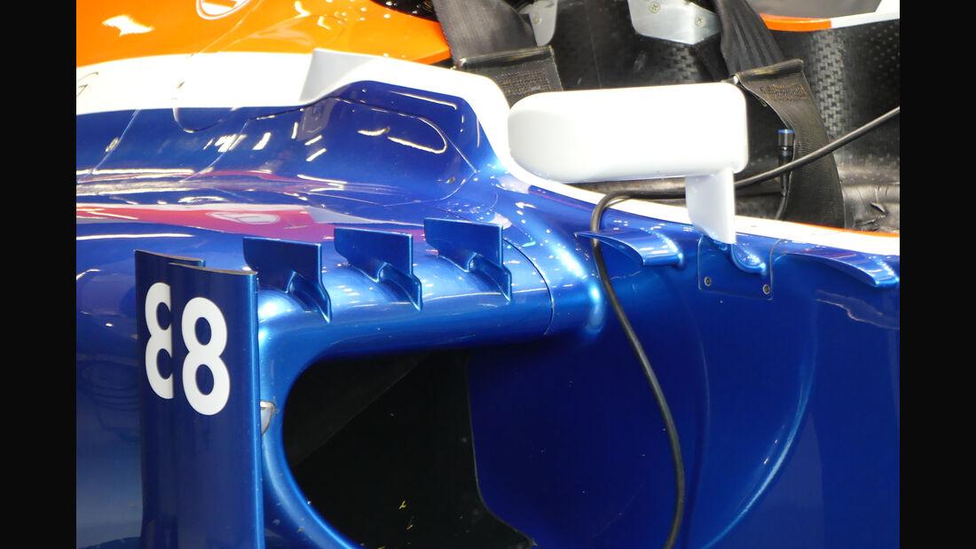 Manor Racing - Formel 1-Test - Barcelona - 24. Februar 2016