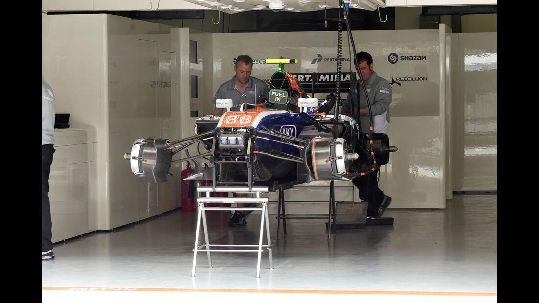 Manor Racing - GP China - Shanghai - Freitag - 15.4.2016