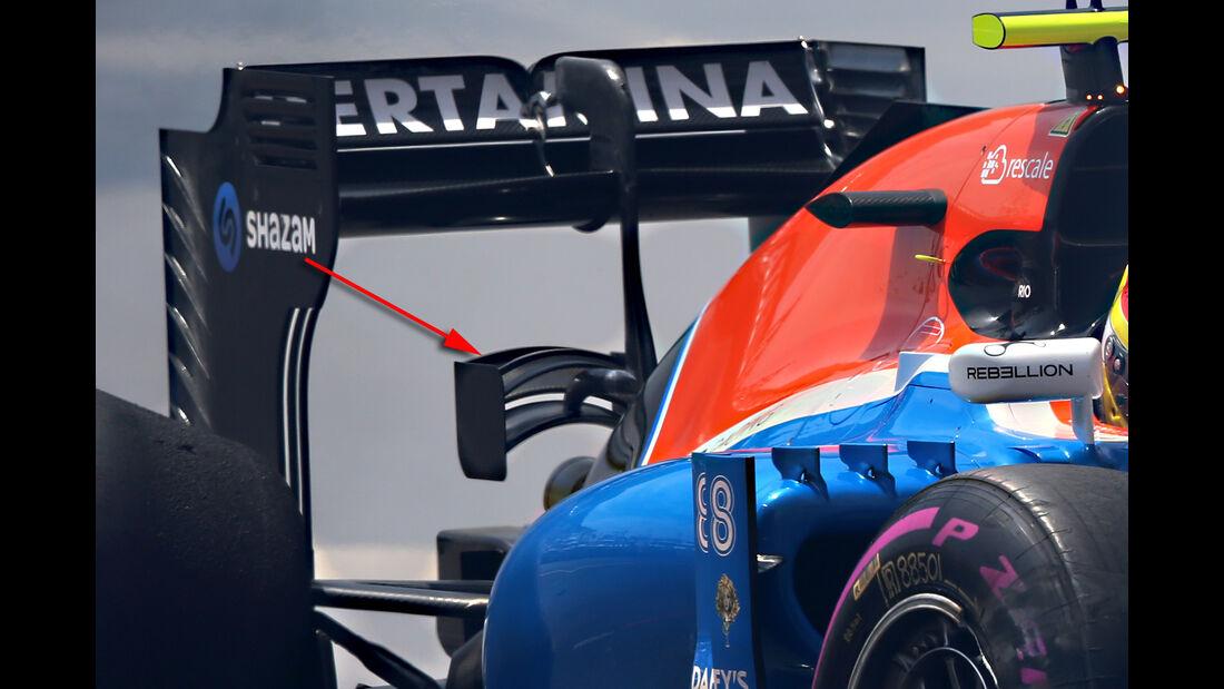 Manor - Technik - GP Monaco 2016