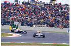 Mansell Patrese 1992 GP Frankreich