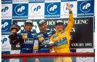 Mansell Patrese Brundell 1982 GP Frankreich