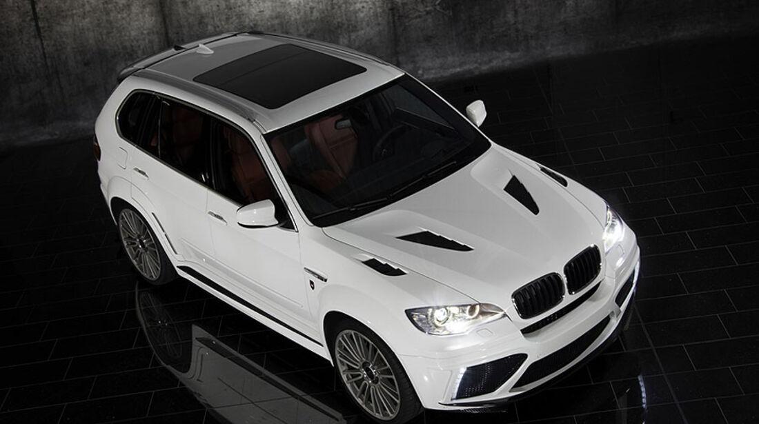 Mansory BMW X5 von oben