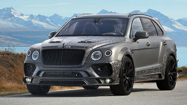 Mansory Bentley Bentayga Black Edition