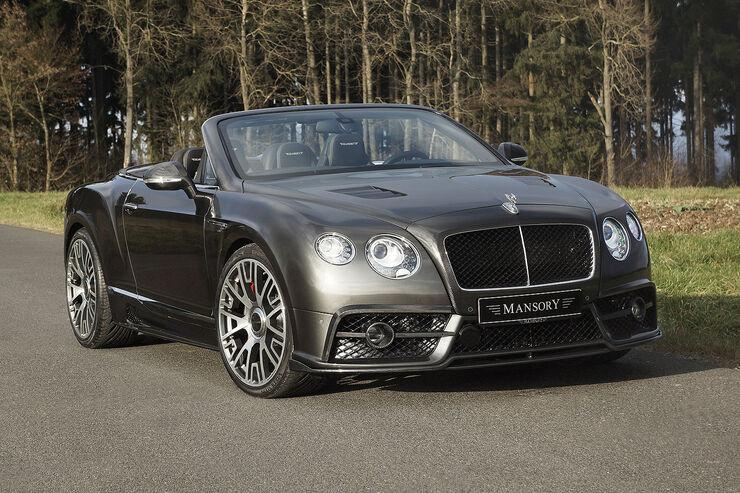 Mansory Bentley Edition 50