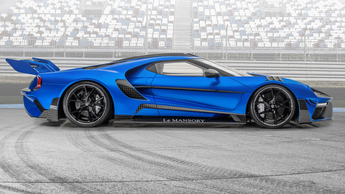 Mansory Ford GT Tuning