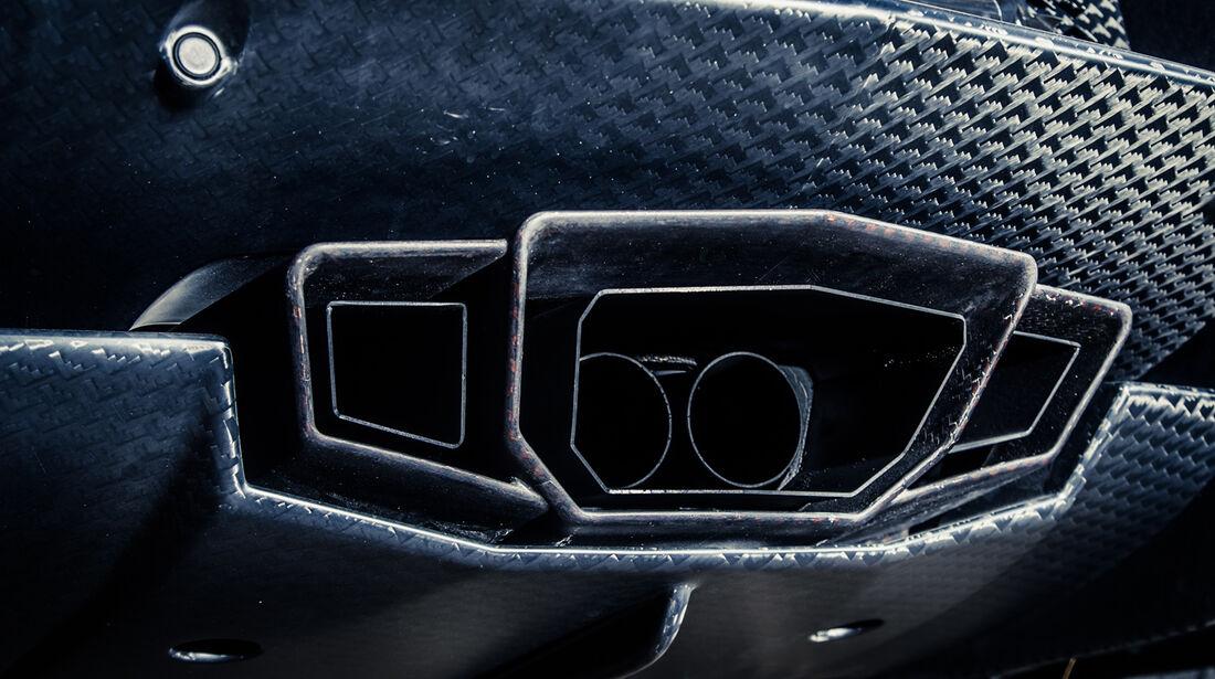 Mansory-Lamborghini Aventator Carbonada, Auspuff, Endrohre