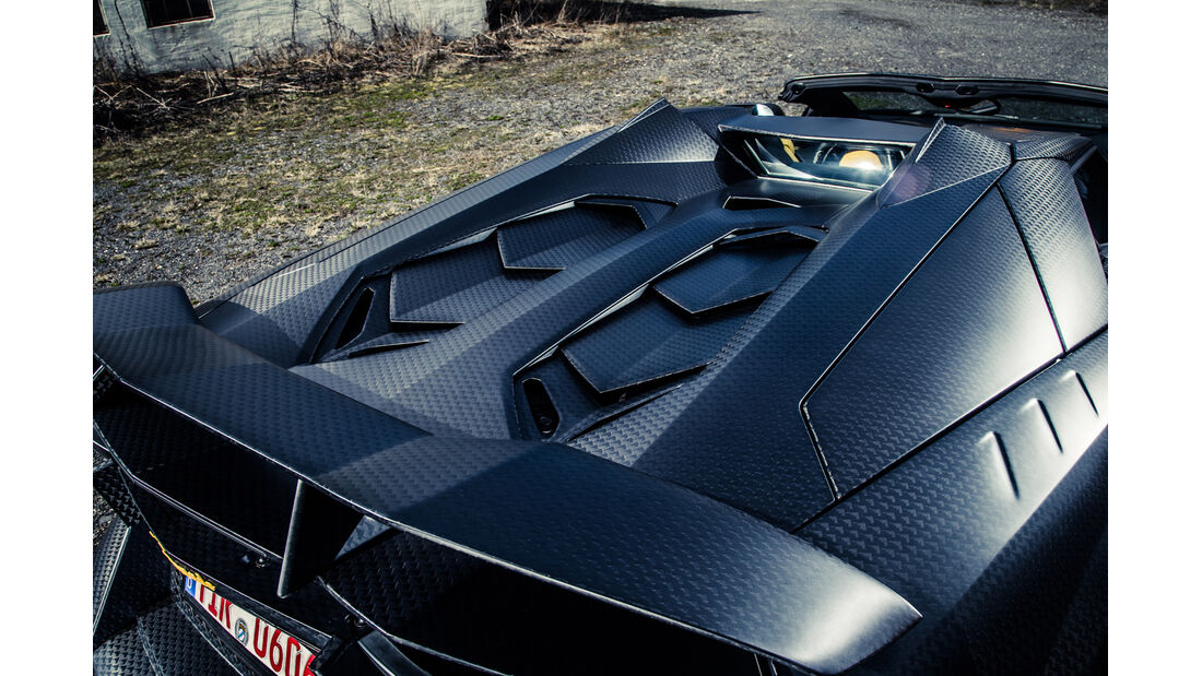 Mansory-Lamborghini Aventator Carbonada, Chassis, Carbon