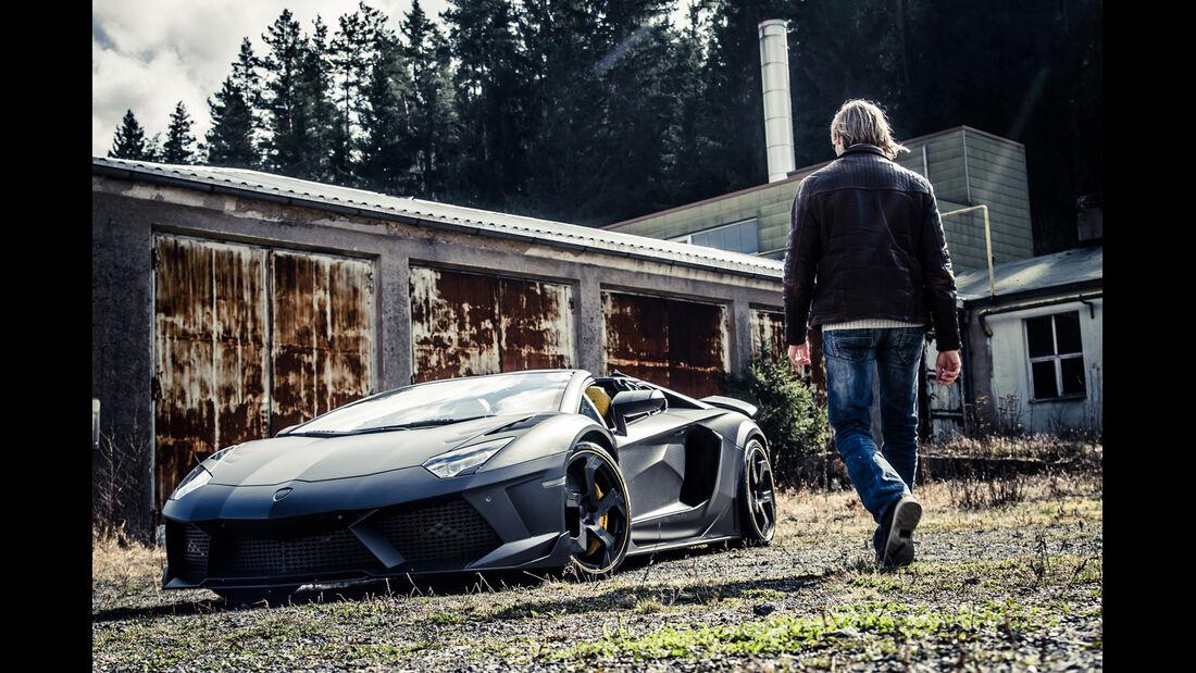 Mansory-Lamborghini Aventator Carbonada, Frontansicht, Marcus Peters