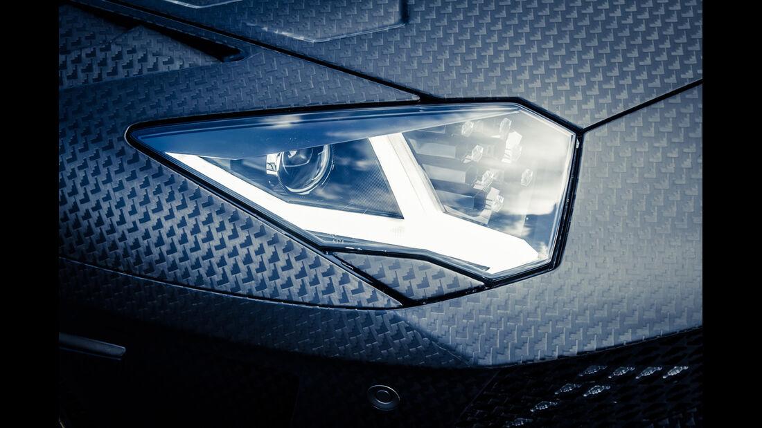 Mansory-Lamborghini Aventator Carbonada, Frontscheinwerfer