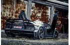 Mansory-Lamborghini Aventator Carbonada, Heckansicht, Flügeltüren