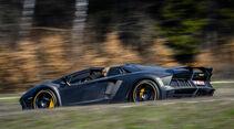 Mansory-Lamborghini Aventator Carbonada, Heckansicht