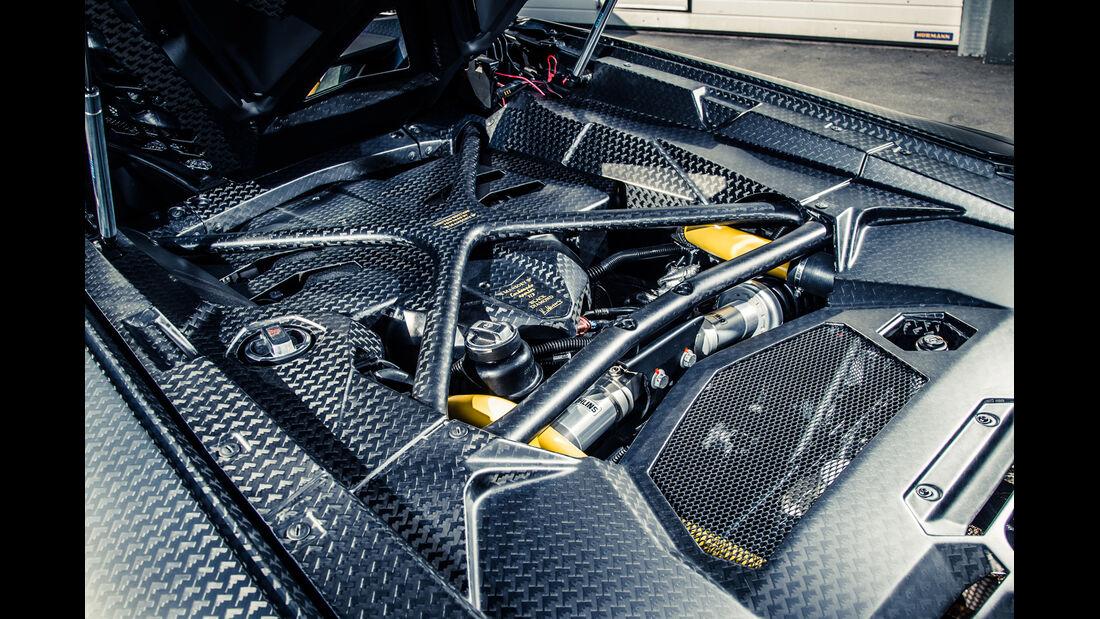 Mansory-Lamborghini Aventator Carbonada, Motor