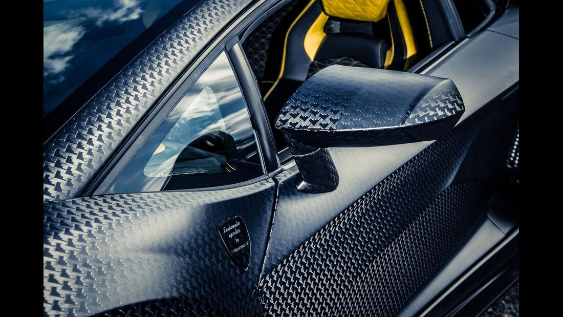 Mansory-Lamborghini Aventator Carbonada, Seitenspiegel