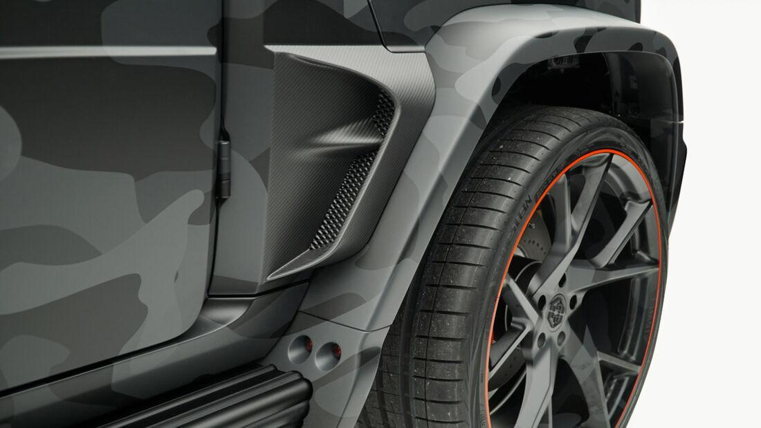 Mansory Mercedes G-Klasse Star Trooper