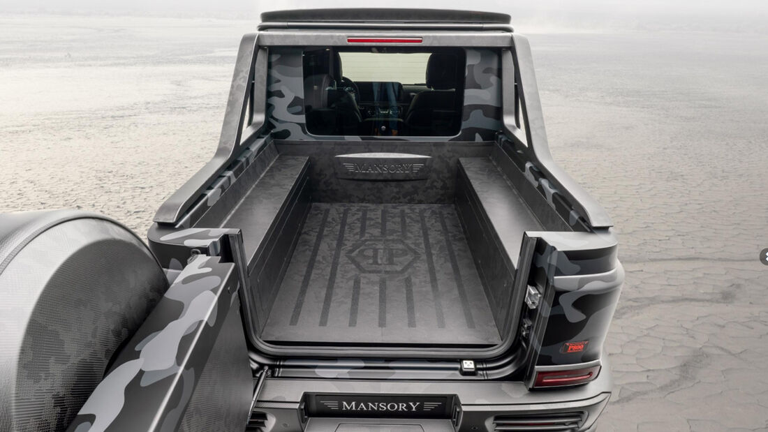 Mansory Mercedes G-Klasse Star Trooper Pickup