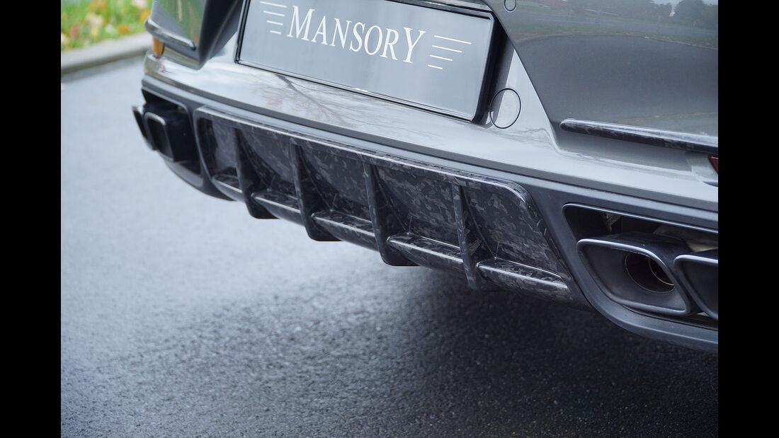 Mansory Porsche 911 Turbo 991 2018
