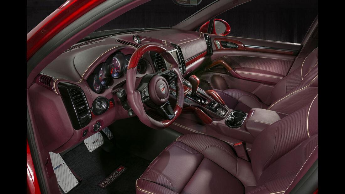 Mansory Porsche Cayenne - Tuning - SUV - Genfer Autosalon 2015