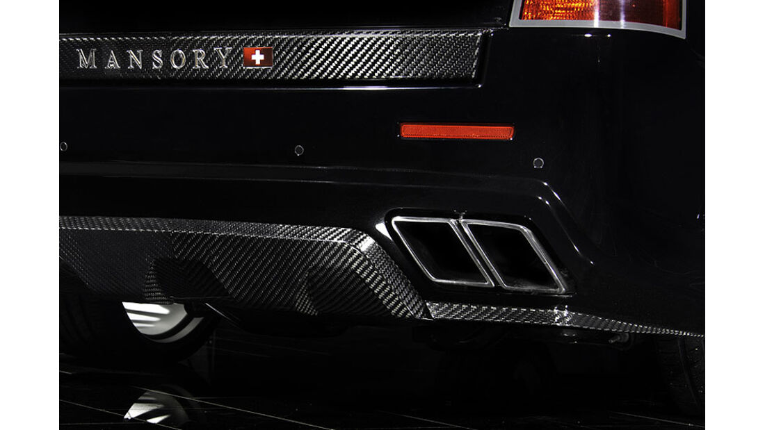 Mansory Range Rover Sport Auspuff