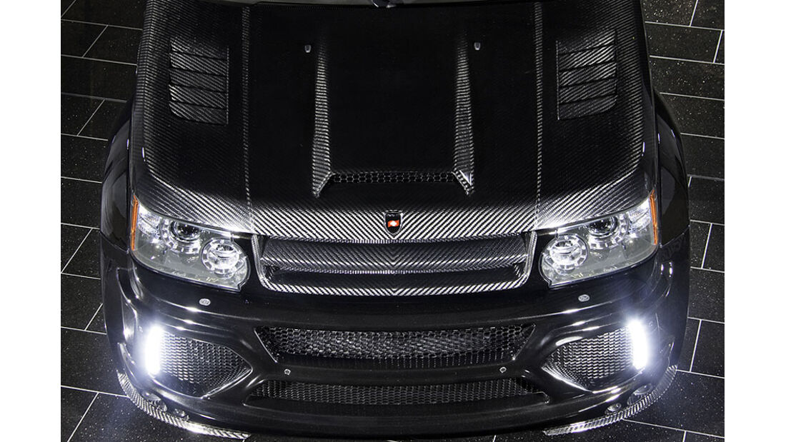 Mansory Range Rover Sport Motorhaube