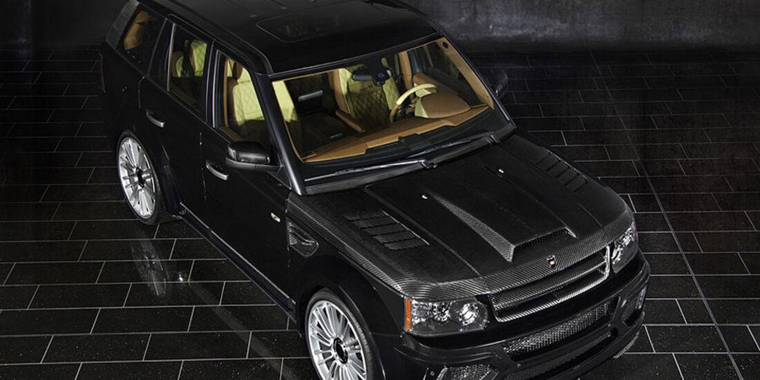 Mansory Range Rover Sport von oben