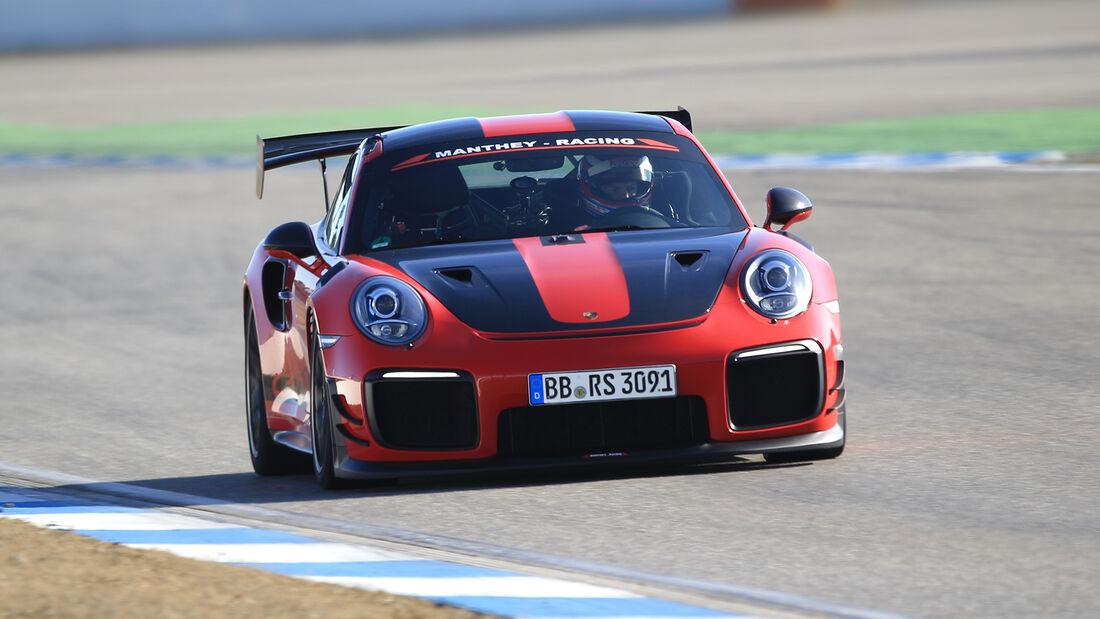 Manthey-Porsche 911 GT2 RS MR, Exterieur