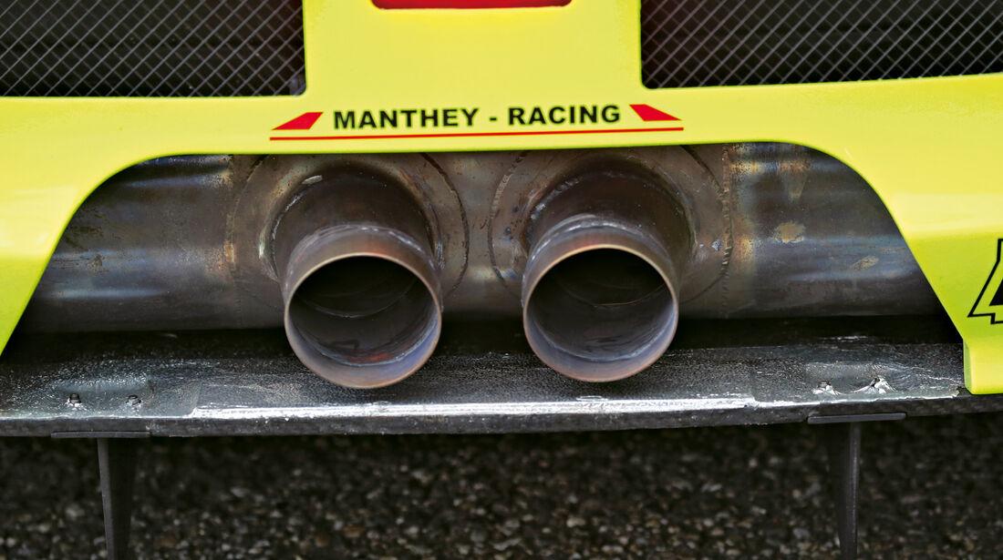 Manthey-Porsche 911 GT3 R, Endrohre