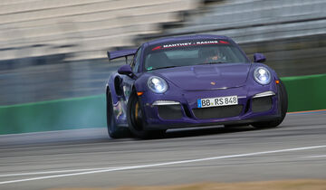 Manthey-Porsche 911 GT3 RS MR, Driften