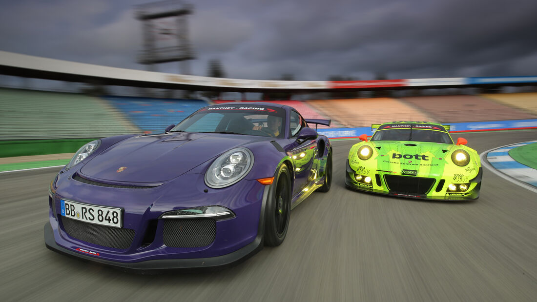 Manthey-Porsche 911 GT3 RS MR, Manthey-Porsche 911 GT3 R