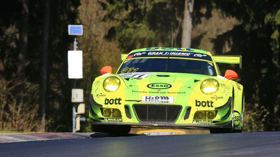 Manthey Porsche 911 - VLN 2 - 8. April 2017