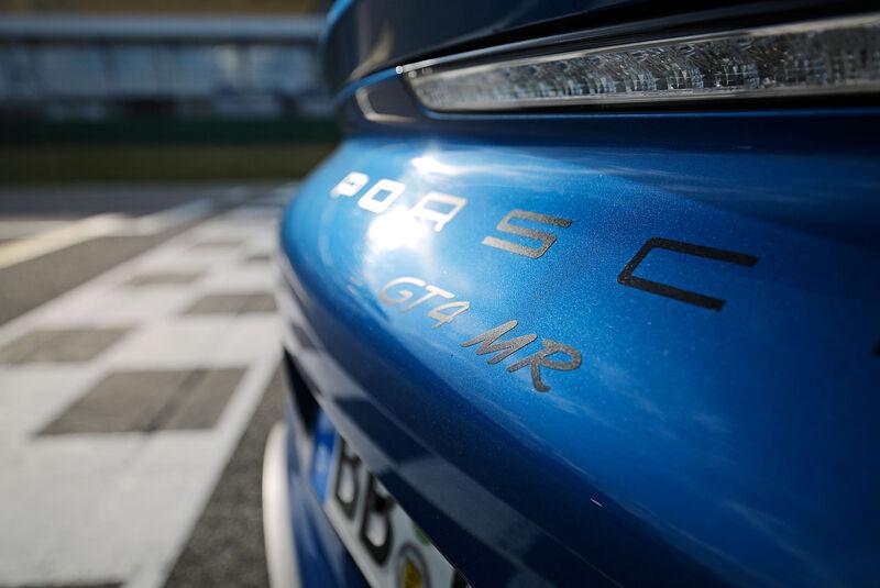 Manthey-Porsche Cayman GT4 MR - Tuning - Sportwagen - sport auto 10/2018