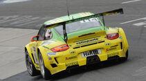 Manthey Porsche GT3 gelb grün