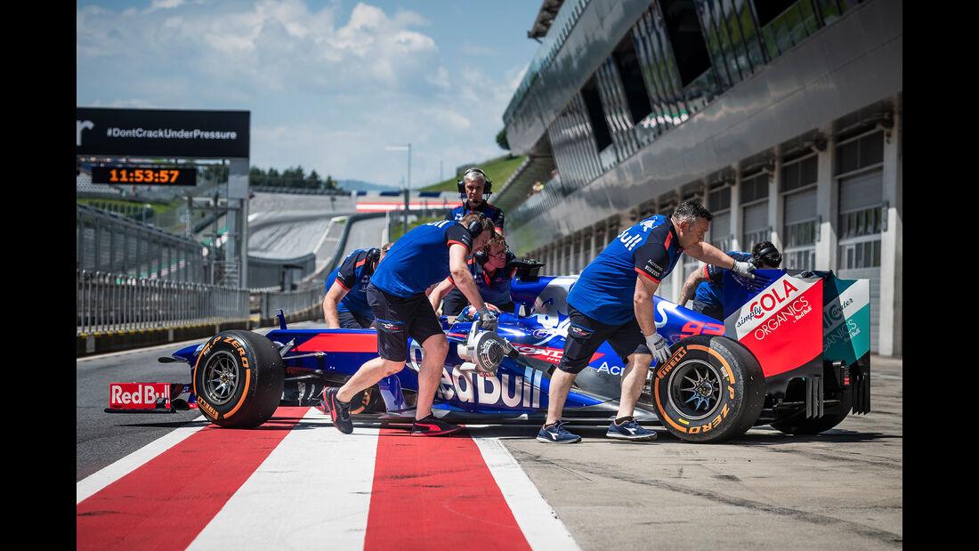 Marc Marquez - F1-Test - Toro Rosso - Spielberg - 2018