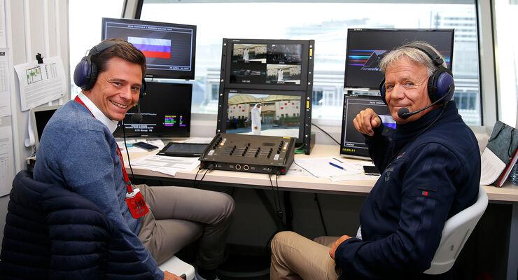 Marc Surer & Sascha Roos - Sky F1 Deutschland