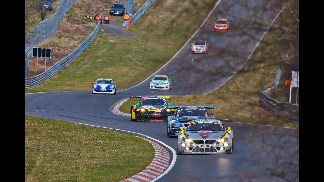 Marc VDS BMW Z4 - VLN 1 - Nürburgring Nordschleife - 29. März 2014