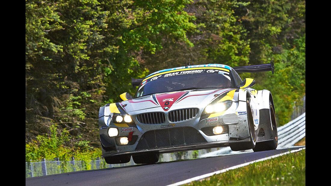 Marc VDS BMW Z4  - VLN Nürburgring - 4. Lauf - 17. Mai 2014