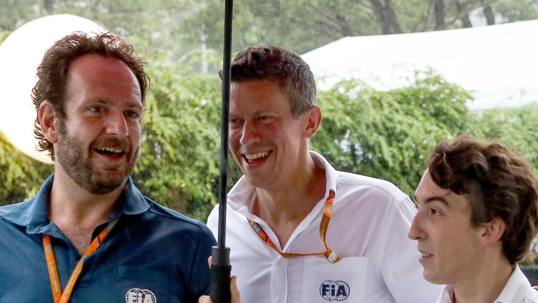 Marcin Budkowski - FIA - GP Singapur 2017