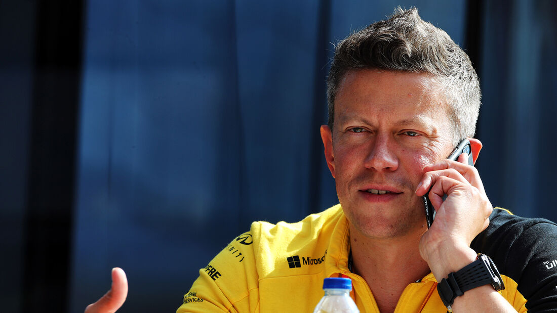 Marcin Budkowski - Renault - Formel 1 - GP England 2019
