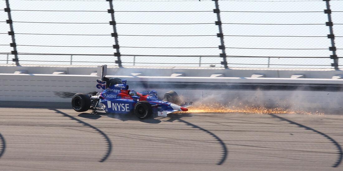 Marco Andretti - IndyCar-Crash