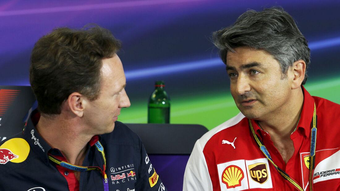 Marco Mattiacci & Christian Horner - Formel 1 2014