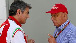 Marco Mattiacci & Niki Lauda - GP Brasilien 2014
