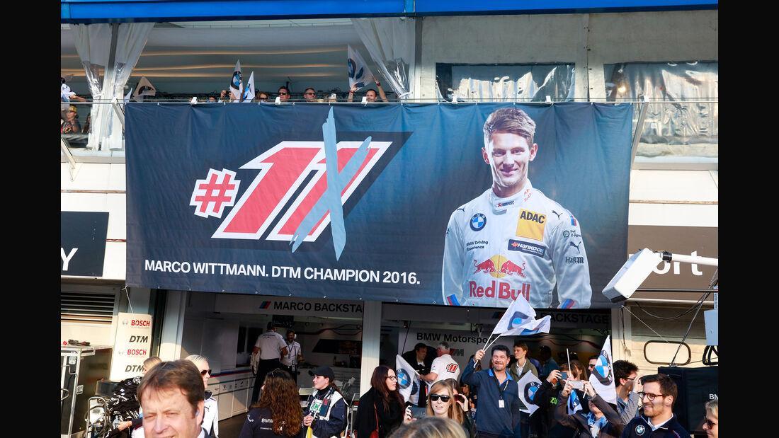 Marco Wittmann - DTM Hockenheim - Finale - 2016