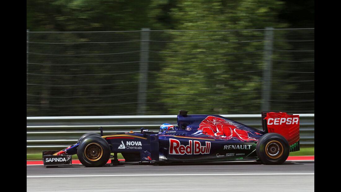 Marco Wittmann - Toro Rosso - Formel 1-Test - Spielberg - 24. Juni 2015