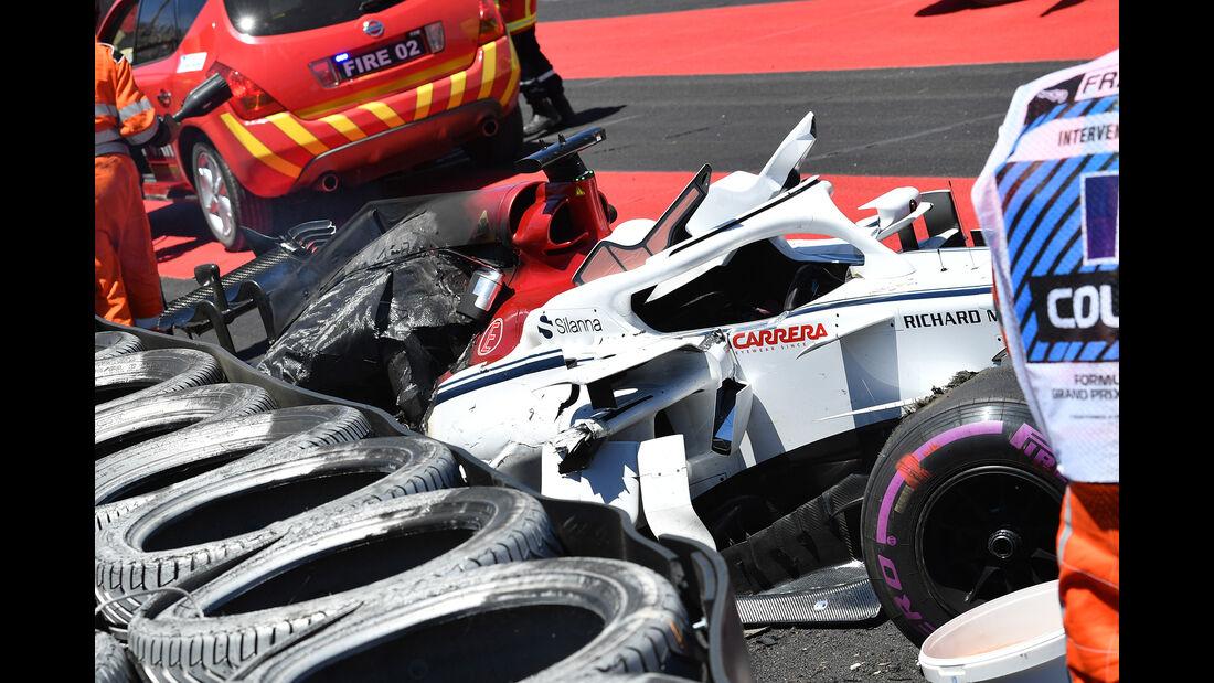 Marcus Ercisson - Sauber - Formel 1 - GP Frankreich - Circuit Paul Ricard - 22. Juni 2018