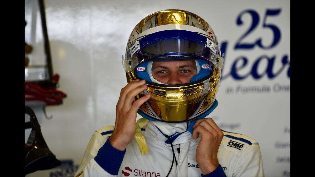 Marcus Ericcson - GP Abu Dhabi 2017