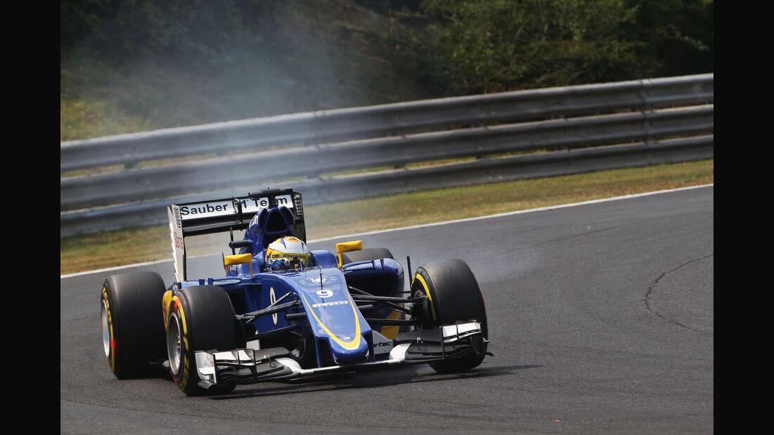 Marcus Ericcson - Sauber - GP Ungarn - Budapest - Qualifying - Samstag - 25.7.2015