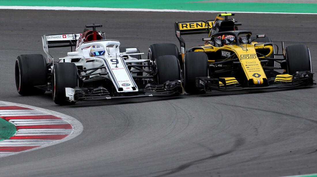Marcus Ericsson & Carlos Sainz - Formel 1 - GP Spanien 2018