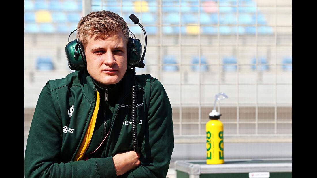 Marcus Ericsson - Caterham - Formel 1 - Bahrain - Test - 19.02.2014